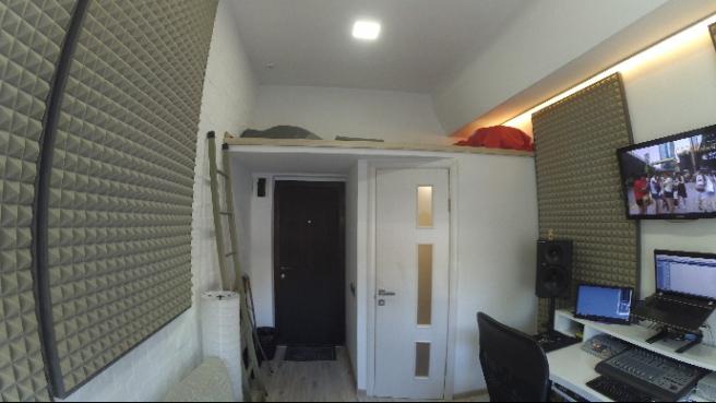 Как живется на 11 квадратных метрах в мини-квартире в Киеве