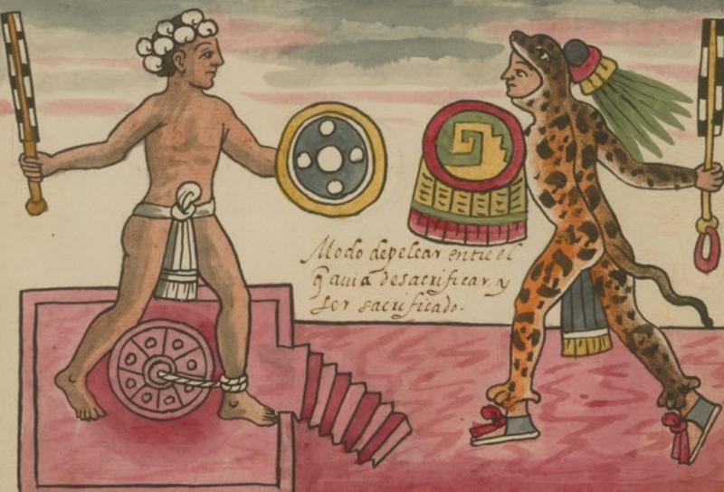 10 страшных подробностей ацтекского ритуала человеческих жертвоприношений