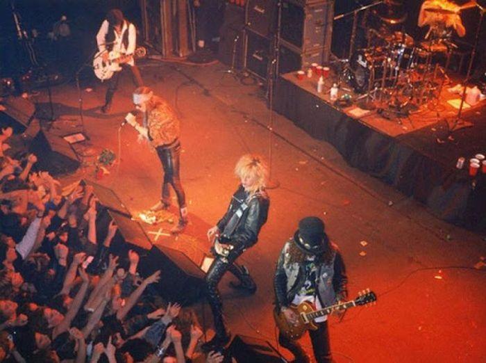 Культовые рок-группы в начале своей карьеры