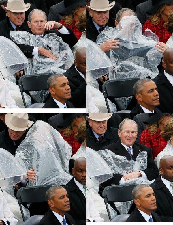 Буш никогда не меняется...