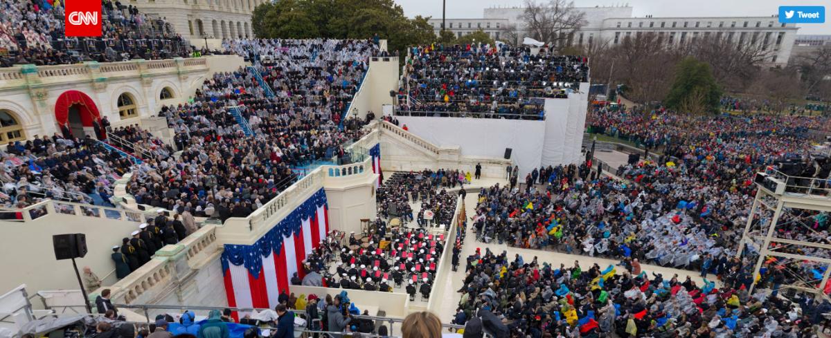 Фото: Гигапиксельная панорама инаугурации Трампа