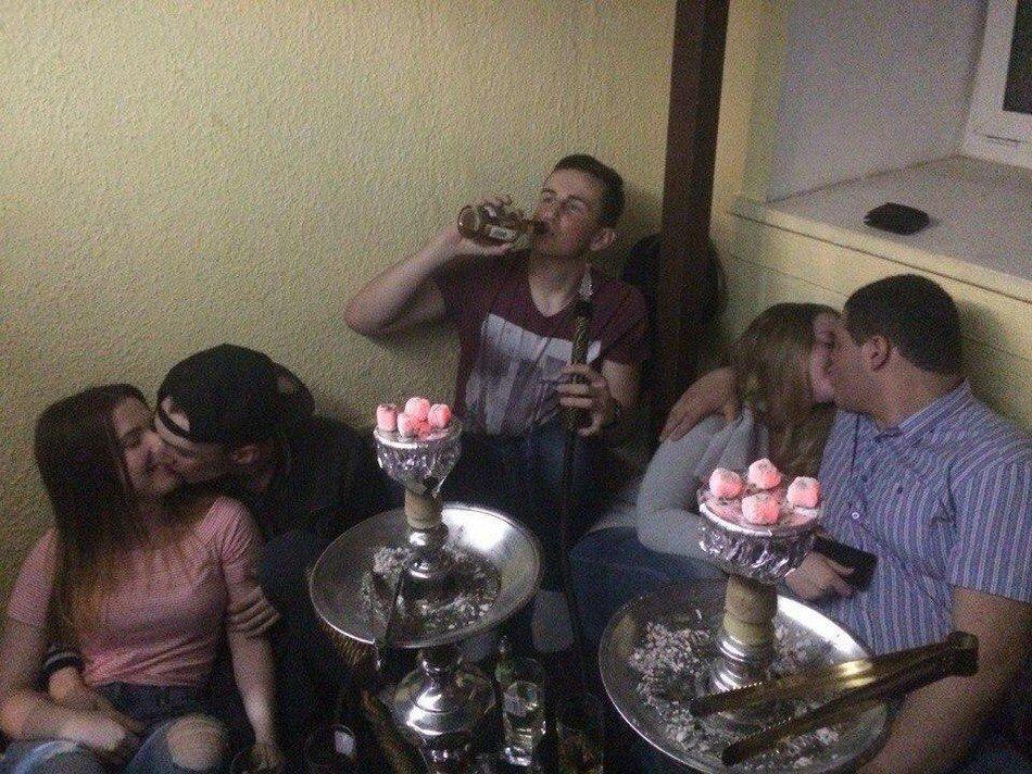 Пьяные гулянки
