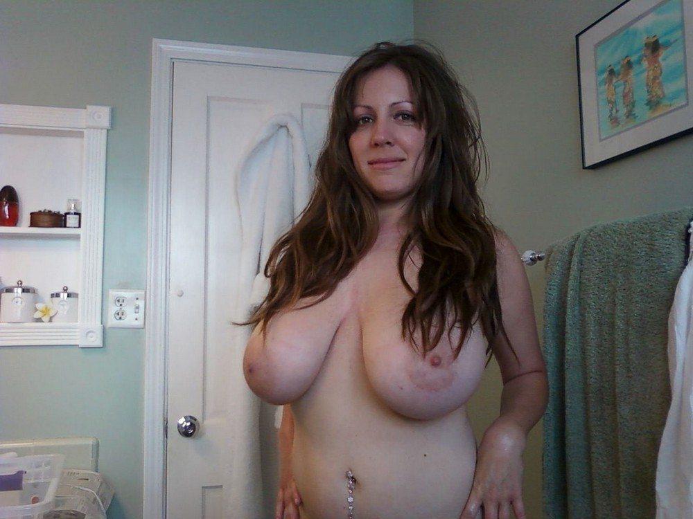 Любительские большие груди