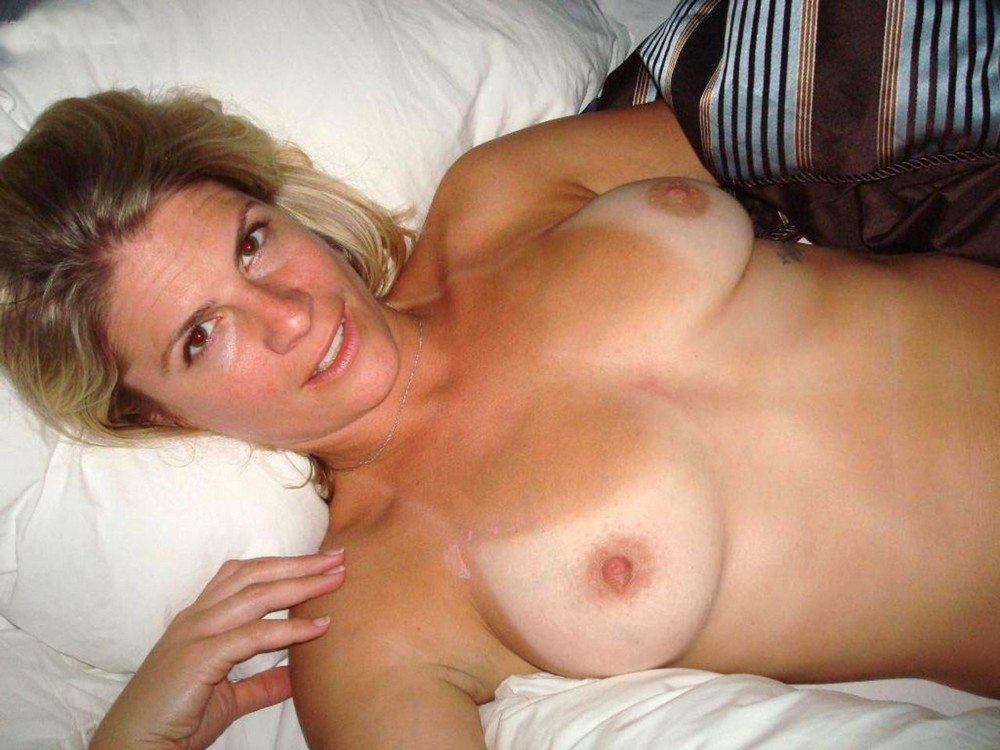 Homemade Mature Perky Breast