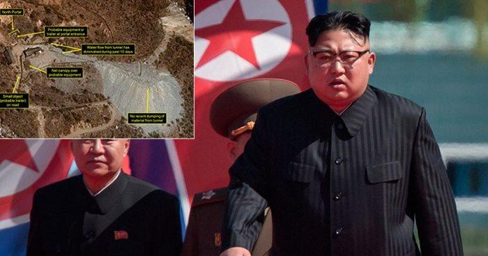 Спутниковые снимки: КНДР готовится испытать ядерную бомбу уже в эту субботу