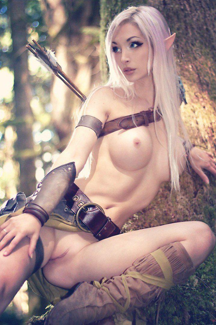 Photo dragon age naked breast elves girls fantasy games staring
