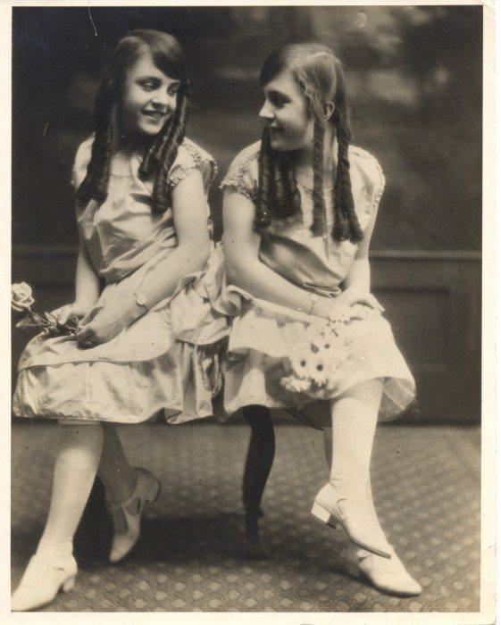 Сёстры Дейзи и Виолетта Хилтон