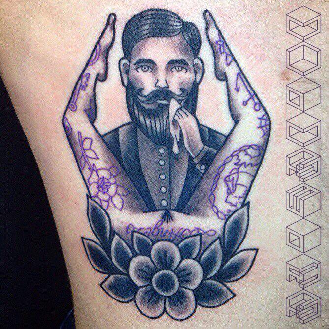 Татуировки, призванные удивлять