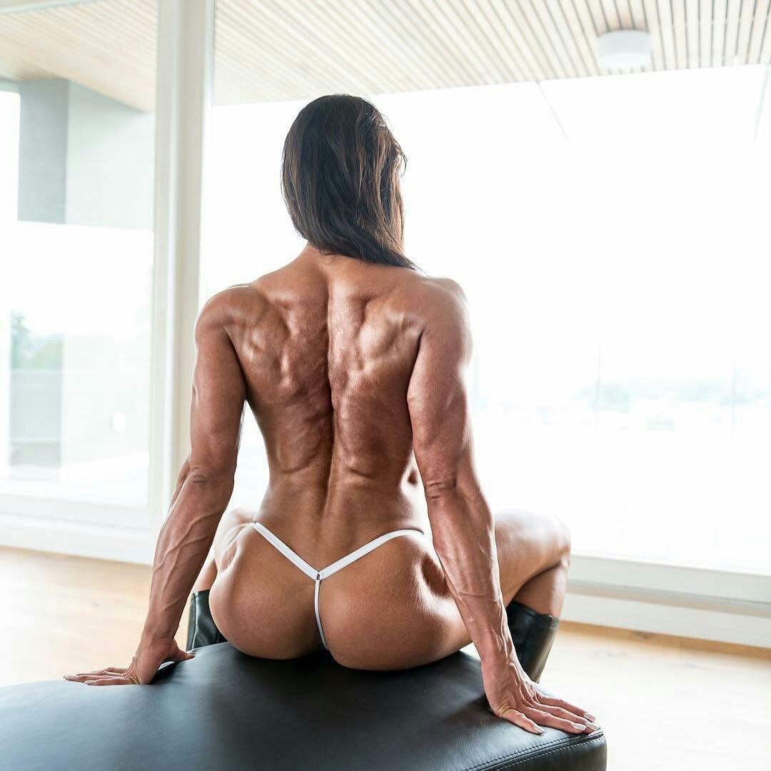 Naked ass fitness girl #4