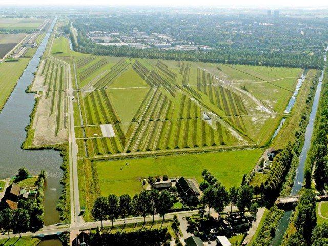 Зачем на поле сделали холмы с траншеями?