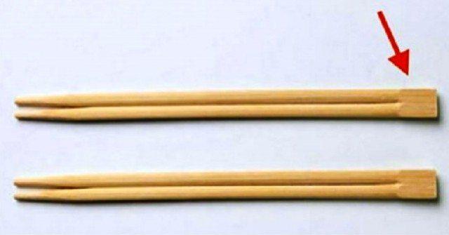 А вы знали, для чего нужна эта часть китайских палочек?