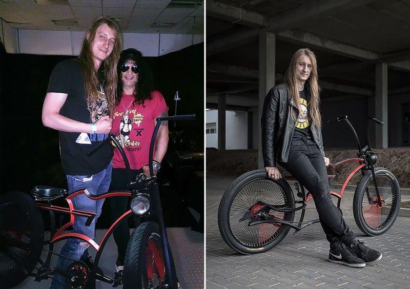 Уникальный велосипед для Слэша