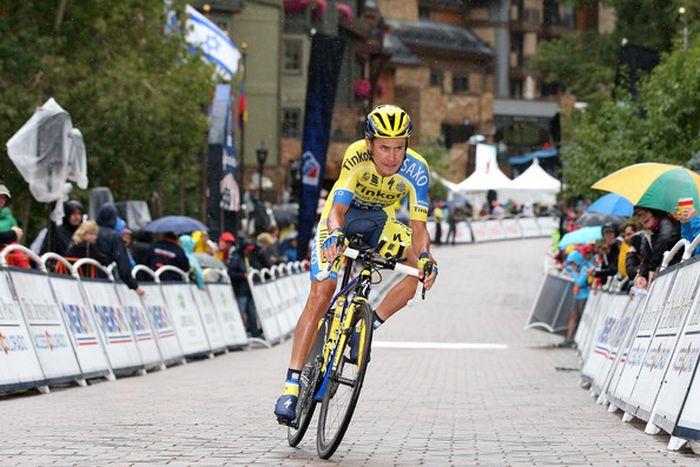 Ноги велогонщика Павла Полянски после 16 этапов «Тур де Франс»