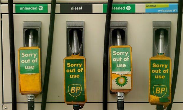 Великобритания планирует запретить машины на дизельном топливе и бензине к 2040 году