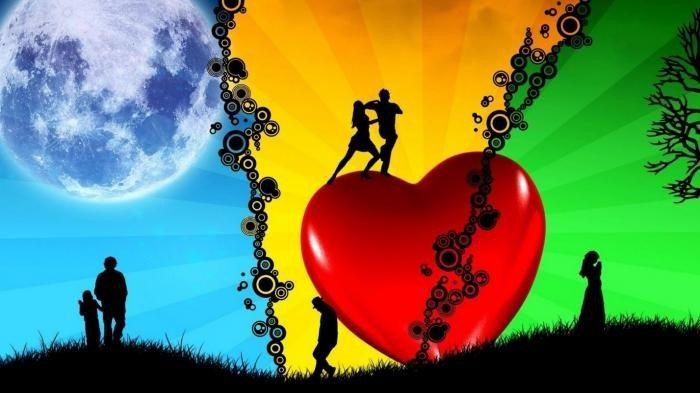 5 стадий любви