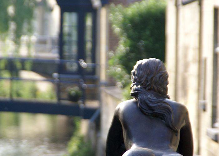 Красивая скульптура в Нидерландах