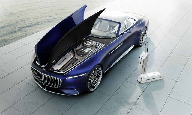 Концептуальный Mercedes-Maybach 6 Cabriolet