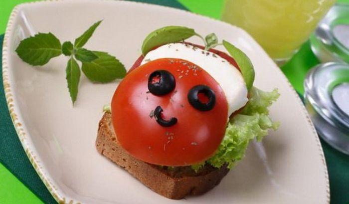 Открытка любимая, картинки бутербродов смешные