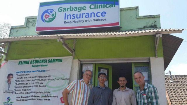 Индонезийская клиника принимает оплату за услуги мусором