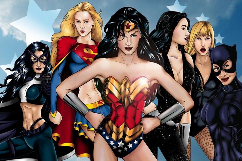Супергерои в сексе