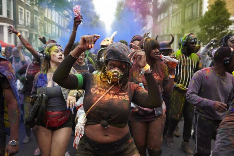 Notting Hill carnival 2018 в Лондоне