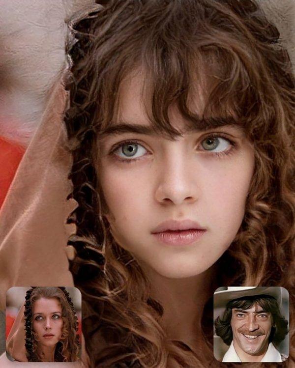 Как бы выглядели дети знаменитых пар из советских фильмов